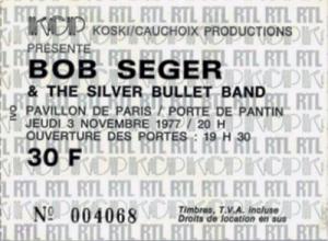 BOB SEGER_1977_11_03