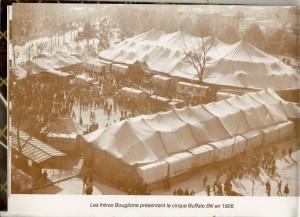 BUFFALO BILL PAR LES BOUGLIONE EN 1926