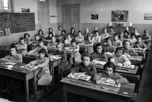 CLASSE FILLES 1960