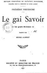 gai savoir 1901