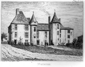 montaigne chateau