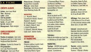 1999 fiche presse mustango 1