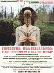 Madame Deshoulieres 1bon preco