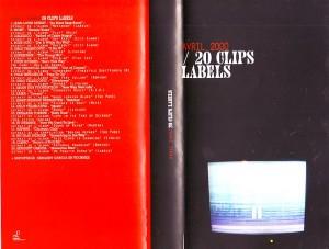 vhs clip label 2000