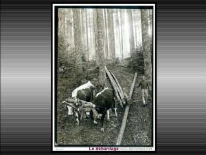 la ferme autrefois 12 débardage